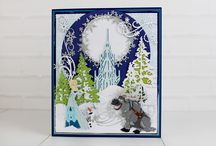 Disney Christmas Collection / Here you can find card samples, used the gorgeous Disney Christmas Collection. For more information visit www.tatteredlace.co.uk / by Tattered Lace®
