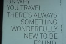 Why Travel / Travel quotes