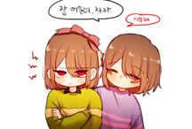 frisk and autres persos
