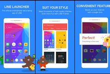 Line Releases Official Android Launcher App