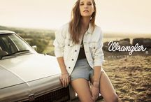 SS13 Campaign / Wrangler Australia SS13 Campaign: 'When The Music's Over' Shot by Travis Grace, styled by Lauren Dietze and featuring Jennifer Gilmore and Dave Ross. Jewellery by Holly Ryan.
