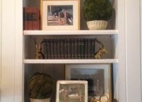 Bookcase styling / by Deidre Haines