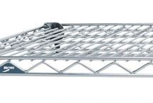 Super Erecta Wire Shelving / The Original Post-Based Wire Shelving System Created in 1965 and is always evolving.  Metro Super Erecta Shelving is recognized worldwide as the most popular commercial shelving system ever.