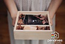 Cajas de madera para fotógrafos