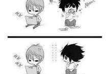 Animes/Mangas + superhéroes / Dragn Ball (Z) , Miku, Acchi Kocchi, Sakurasou,  Gokukoku...