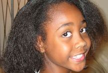 black hair care / growing and maintaining permed and afro hair