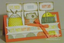 SU Cheerful Critters & From the Herd / DIY Cards / by Kathy Coignard