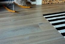 Grey wood flooring / Quality solid oak and engineered oak flooring in contemporary grey colour finish. Scandi style oak flooring in white and grey shades.