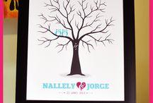 Árbol de Huellas by Amore Amore! / Arbol de Huellas para Boda, Wedding Tree, by Amore Amore!