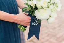 Bouquets / Bride and Bridesmaids bouquets. Pretty flowers for Mothers too!