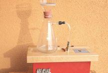 ALCHIMEX / Hi-quality vaccum coffee machine