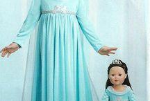 Faschingskostüm Eiskönigin Elsa