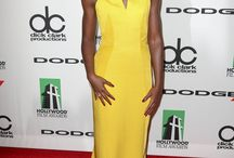 Lupita Nyong'o (love her style) / Lupita Nyong'o has amazing style...but then she would look good in ANYTHING!