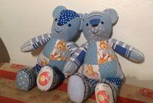 Quilt teddybears / Omatekemät