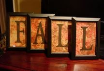 All things Fall!  / Fall Decorating Ideas / by Sherry Harvell Bunger