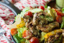 Salads! / by Shanna Huggins