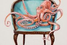 Kimberly Applegate animal art