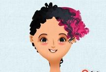 Toca hair salon by me hahaha  / Toca hair salon! Love it!