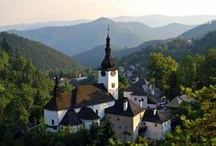Europe: Slovakia / Slovakia is a landlocked country in Central Europe.  It has a population of over five million and an area of about 19,000 sq mi. Slovakia is bordered by the Czech Republic and Austria to the west, Poland to the north, Ukraine to the east and Hungary to the south.  Slovakia became independent on January 1, 1993 with the peaceful division of Czechoslovakia in the Velvet Divorce. / by Dannie Pinedo