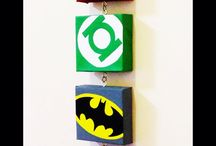 Kids bedroom decorations- Marvel superheroes