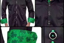 St Patricks Day / Dress Shirts Inspired by St Patricks Holiday - Made in the USA