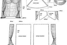 Drapéria és függöny szabás / Drapéria és függöny szabás
