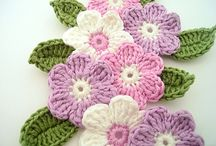Crochet flower / by Kirsten Herranes