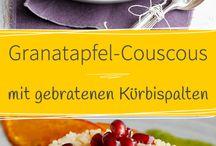 Couscous / Bulgur / Hirse / Grünkern