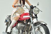 バイク 女