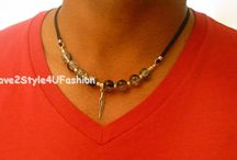 Men's and Unisex Handmade Necklaces by Love2Style4UFashion on Etsy / Love2Style4UFashion creations are original one-of-a-kind handmade with high quality materials. All Made in USA and American Made by Love2Style4UFashion on Etsy. Readily available to ship. Worldwide shipping!