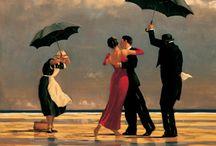 Jack Vettriano - love his work! / Art pieces by Jack Vettriano