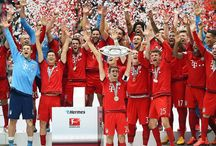 FC Bayern Munich lifted the German championship / Congratulations. FC Bayern Munich lifted the German championship. Pep Guardiola's Bayern side were crowned German champions for the 25th time after Saturday's 2-0 victory over Mainz.