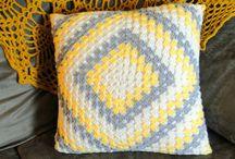 crochet - pillows&blankets