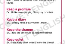 collocations with keep/have/get/do/go