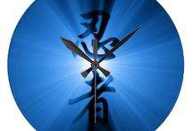 Shinobi Gear - Kanji Clocks / Great gift ideas! Kanji wall clocks.