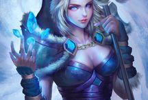 crystal maiden art
