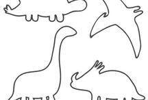 Dinosaur quilts