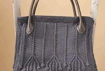 Pletené a háčkované tašky