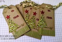 Christmas tags / by Stampin with J - Stampin' Up!