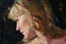 Jane Radstrom / Art painting