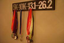 Medal hanger idea