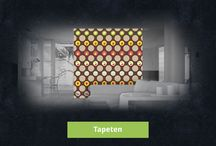 Tapeten / Gestalten Sie Ihre eigenen Tapeten, Küchenrückwände, Fliesen und Uhren bei Style your Castle günstig, schnell und einfach!