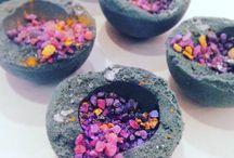 Flowers in Gutter/Drain