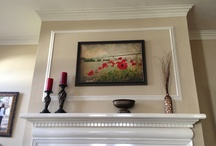 Fireplace/Mantle/Entry / by Shannon Waits