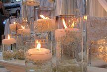 decoração de vasos com perolad