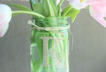 Mason Jar Crafts / DIY ideas and tips from across the web using mason jars and other items you can find at Dollar Tree. / by Dollar Tree