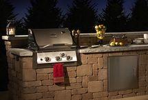 outdoor kitchen ideas / by 5D Spectrum