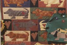 Quilts with dogs