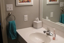 Bathroom redo / by Nikki Isley Moore