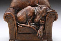 Great Dane Sculpture